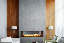 Panelled rooms and fireplaces
