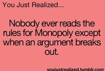 U just realised