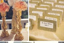 Wedding Themes: Glittery Sparkly Weddings / Perfect for those magpie brides who love a bit of glitz and glam on their wedding day.