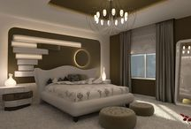 Béžová spálňa - beige bedroom
