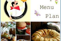 monthly menu plan