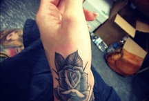 Tattoos: Roses & Other Blooms / by Janene Steenkamp