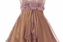 Mauve Flower Girl Dresses