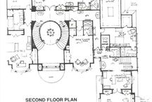 Планы замков, дворцов, домов