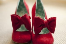 Red Shoes / Dorothy's red shoes symbolized the power she always had within her.  What do these red shoes symbolize for you?   What country are your shoes walking on?
