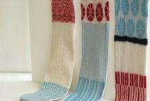 machine knitting projects