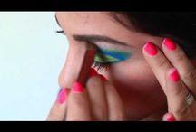 My work / Make up, make up artist, artist