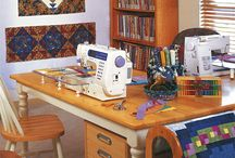 patch work quilting space