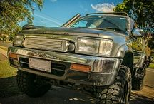 Toyota 4Runner / Profiles of beefed-up Toyota 4Runners
