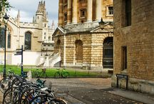 Oxford - just because it is always full of bikes!
