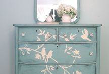 chalk paint furniture / by Tina Townley