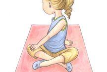 Yoga & yoga kids / by Gabriela Torres L
