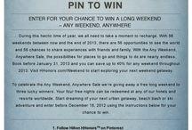 Hilton Honors Weekends! / by Antoinette Raggio