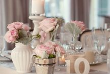 Lifestyle: Flower table decorations