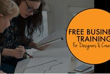 BUSINESS TRAINING FOR DESIGNERS & CREATIVES / Stop working for peanuts and start to make a profit in your design business. FREE business training  CLICK HERE TO DOWNLOAD NOW https://thebusinessdesigner.leadpages.net/business-training-for-designers/