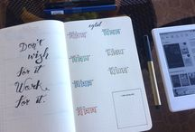 Bullet Journal by Smell of Paper
