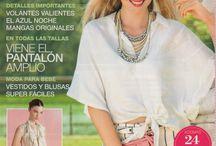 "Dots blouse ""patrones"" mangas capelina"