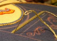Medieval: Embroidery / Patterns, examples and ideas. (Not all are original medieval.)