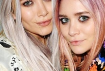 Hair: Pastel, Silver and Bright Colors