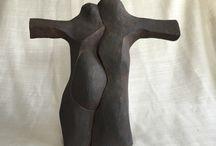 Victoria Pérez mis esculturas