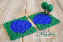 Happyberry Crochet Road Playmat