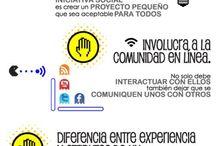 Infografías 2.0 / Infografía y otros visuales sobre redes sociales, mercadeo, comunicación y publicidad digital. / by Community Managers Venezuela (CMVzla)