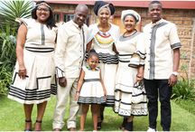 Women's fashion Xhosa dress