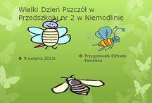 Przedszkole 2 Niemodlin Wielki Dzień Pszczół