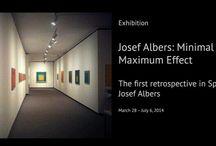Josef Albers: Minimal Means, Maximum Effect - Spain / Josef Albers: Minimal Means, Maximum Effect the first retrospective in Spain devoted to Josef Albers
