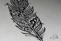 tatto plumes