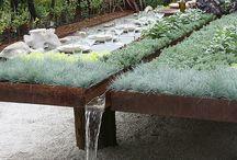 Voda v záhrade