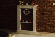Markamotor / Wooden fireplace