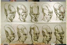Elongated skulls found in Bolivia, sketched as they would have looked in real life. #aliens #skulls #skretch #et #humanoid