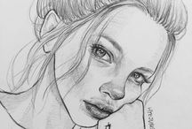 Simplistic Portraits