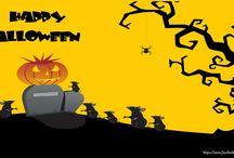 Felicitari de Halloween / Halloween este o sarbatoare imprumutata de cativa ani buni si in Romania, care si-a castigat repede adepti, mai ales ca in noaptea de 31 octombrie cei care merg la petreceri se deghizeaza in zane, printese sau printi, vampiri, vrajitoare, mumii sau schelete.
