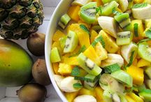 Tropical Fruit Recipes / Bananas, pineapples, mangos & more