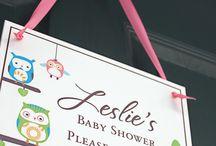Linda's baby shower