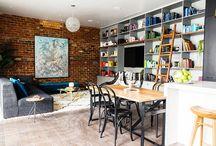 Room Reveal 7: Living Room / Reno's take on The Blocks Room Reveals