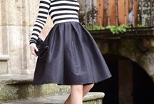 midi skirt inspirations / by Lynnism -