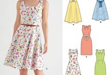 Dress Patterns / patterns I want to do