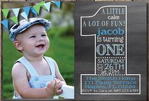 Party and invitation ideas / Ideas for invitations and parties