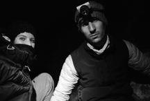 Slackline nouvelle année 2014 / Une super nouvelle année génial !  La highline de la brèche des moines dans la montagne de sainte victoire. Performeur : Clément autrement appelez PINKMAN