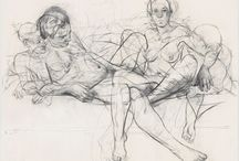 Figure Drawing / May not be safe for work! NSFW. Ish. COME ON IT's ART!  / by Jackie Johnson