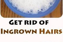 getting rid of unwanted hairs
