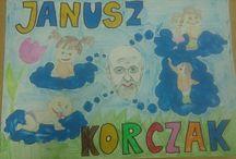 prace moich uczniów / prace plastyczne uczniów klas gimnazjach z niepełnoswnością intelektualną w stopniu umiarkowanym lub znacznym