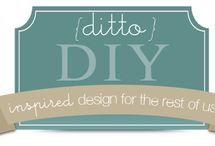 {ditto} DIY / Simple and classic DIY projects inspired by haute design.