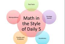 Math Daily3 (Daily5) / by Paula Naugle