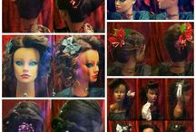 Holiday Hair Contest / Empire Students and Grads were to create a holiday themed hairstyle/or makeup look and post the pic on Instagram for a chance to win a Babyliss Trove of Tools. Contest ran from December 16th until December 30th.  Here are some of the entries along with the winning look, / by Empire Beauty Schools