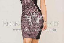 Regina's Desire Bandage Dresses