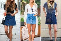 De Mini Jeans Por Aí